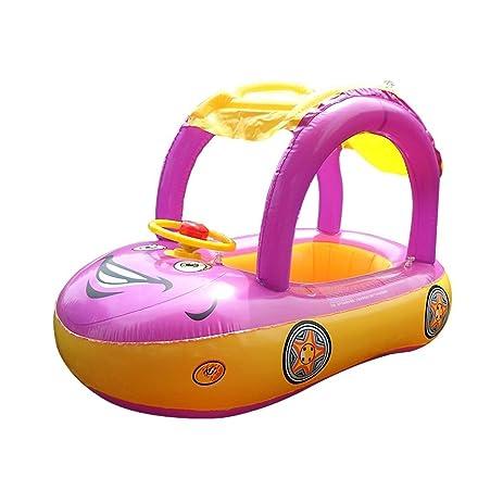 Amazon.com: Summer Steering Wheel Sunshade Swim Ring Car Inflatable ...