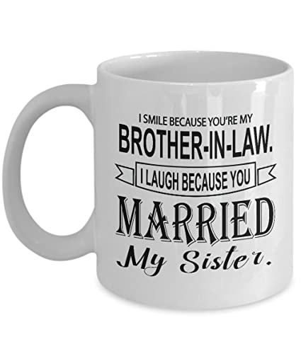 Funny Brother In Law Gift