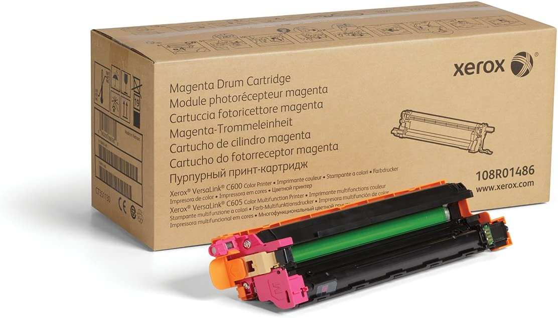 Amazon.com: Xerox Genuine Magenta Drum Cartridge 108R01486 ...