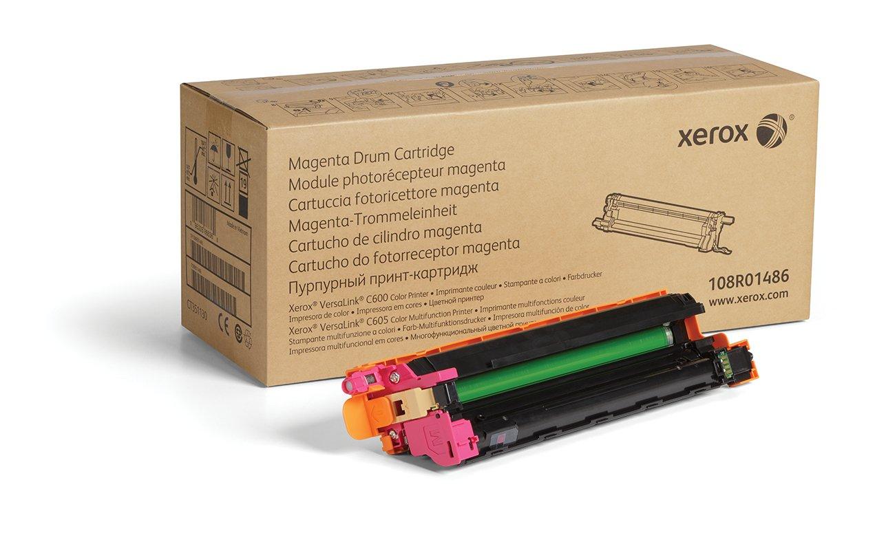 Tambor Original XEROX Magenta 108R01486-40 000 Páginas para Usar con Versalink C600/C605 Toner