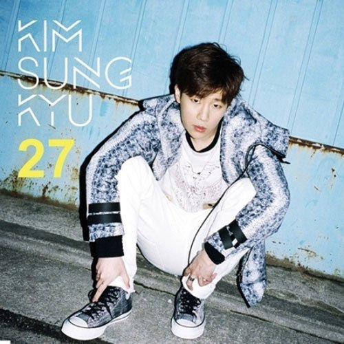 KIM SUNG KYU - [ 27 ] 2nd Mini Album CD + Photo card + Poster K-POP Sealed INFINITE