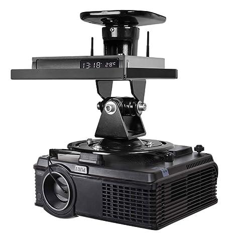 TDCQQ Proyector Soporte |Montar en el Techo o Pared de proyección ...