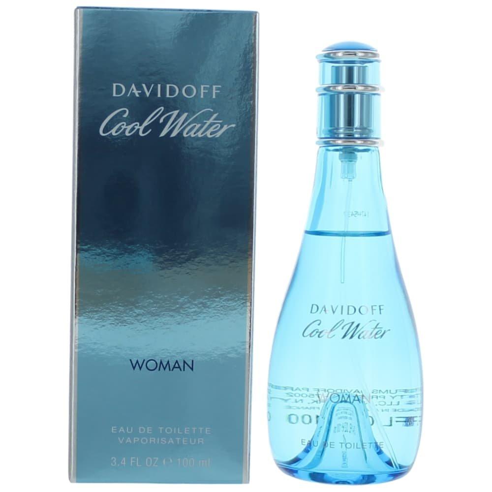 Cool Water By DAVIDOFF 3.4 oz Eau De Toilette Spray For Women 864339306