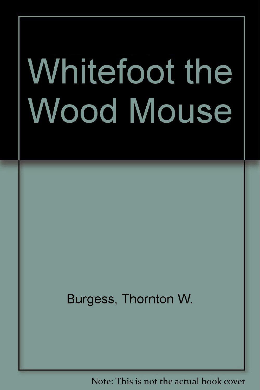 Whitefoot the Wood Mouse 1922: Thornton Burgess, Harrison Cady: Amazon.com:  Books
