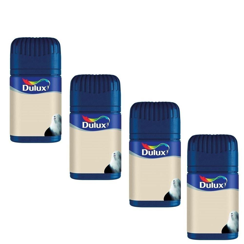 4 x Dulux® Paint Compact Wall Ceiling Matt Finish Emulsion Choices Fast Colour Decorating 50ml Dulux®