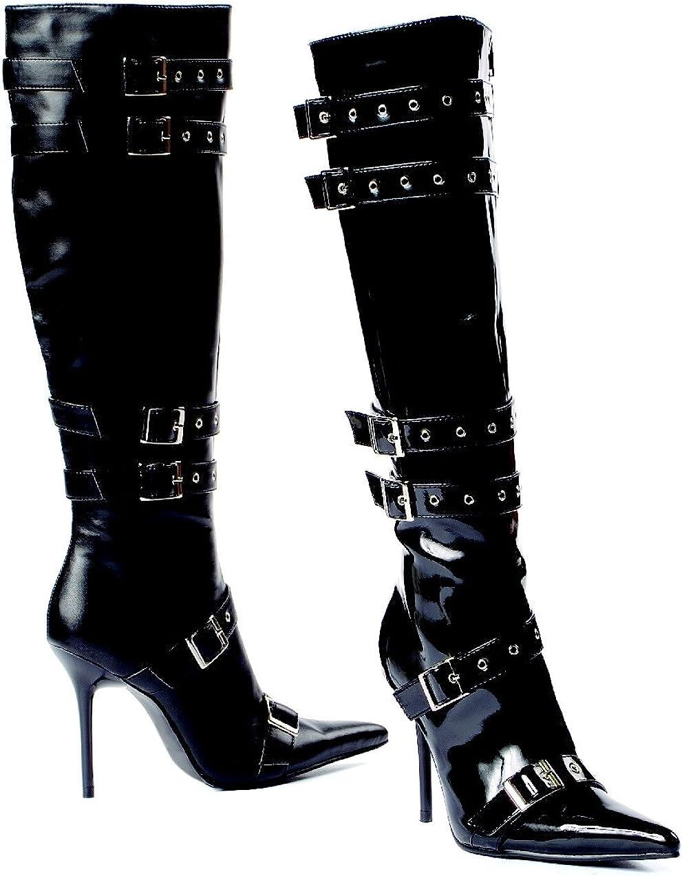 Lexi-516 Adult Shoes Black PU Size 8