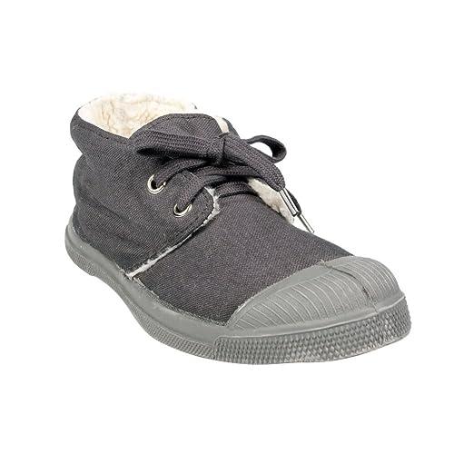 Bensimon - Zapatillas de Deporte de Lona Unisex adulto, Gris (Gris / Gris), 36: Amazon.es: Zapatos y complementos
