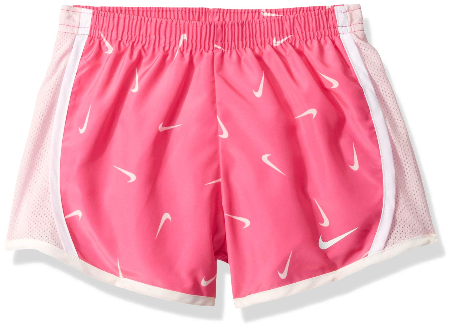 NIKE Children's Apparel Girls' Little Dri-FIT Tempo Shorts, Fuchsia/Pink/White, 6 by NIKE Children's Apparel