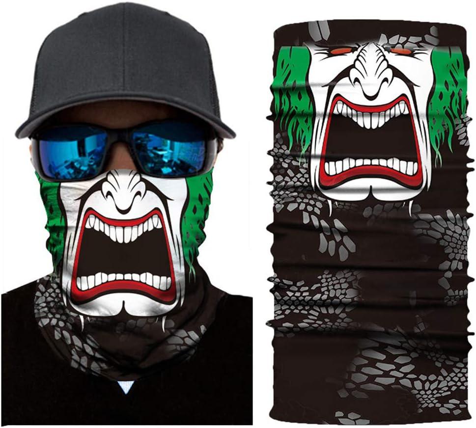 10 MIAO MIAO HOME Cycling Sport Ski Scarf/Outdoor Face Bandanas for Men