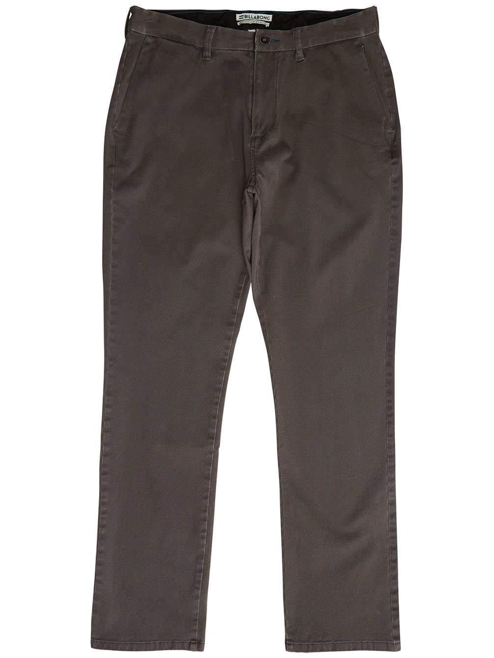 BILLABONG New Order Chino Pantalones, Hombre, Gris (Raven 1358), (Tamaño del Fabricante:33)
