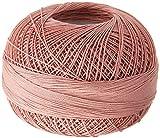 Handy Hands Lizbeth Premium Cotton Thread, Size 40, Shell Pink Light