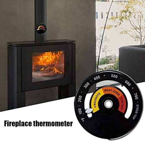 Stronrive Thermometre Poele A Bois Cheminee Thermometre Pour