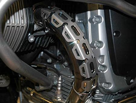 MODIFIED EXHAUST HEADER GUARDS FOR BMW R1200GS GSA FOR HONDA CRF1000L Africa Twin