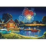 Buffalo Games Days to Remember: Summer Spirit - 500 Piece Jigsaw Puzzle by Buffalo Games