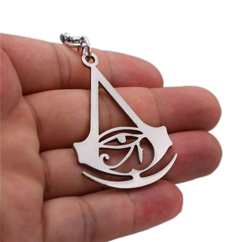 Amazon.com : Men Key Chains Assassins Creed Black Flag Metal ...