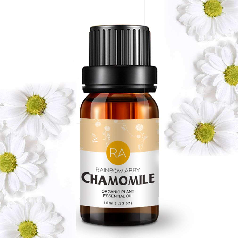 Chamomile Essential Oil 100% Pure Aromatherapy Oil for Diffuser, Perfumes, Massage, Skin Care, Soaps, Candles - 10ml