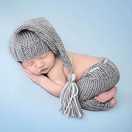 acb1ce11a Amazon.com  Doiber 1 pc Fashion Cute Newborn Boys Girls Baby Photo ...
