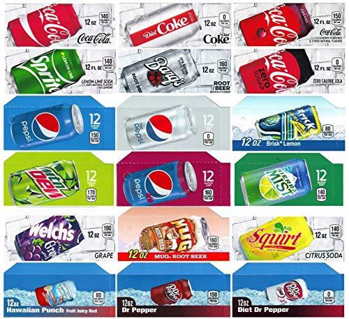 Vending-World - 18x Flavor Strip for 12 oz Cans Soda Pepsi Coke Vending, fits Dixie Narco, Vendo