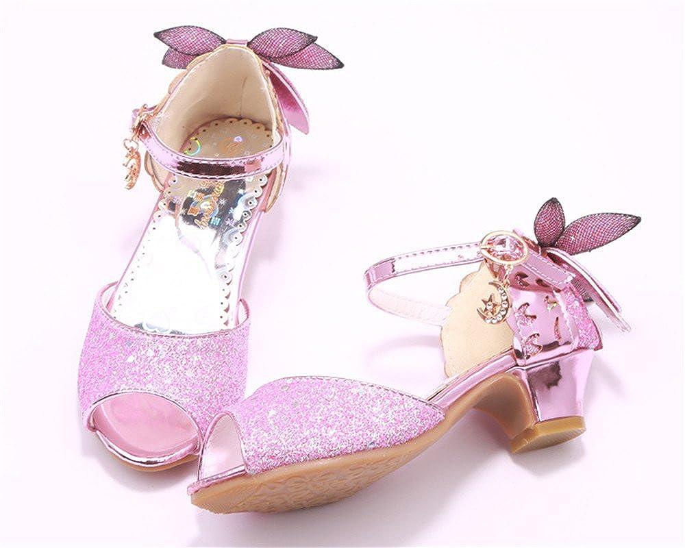 Toddler//Little Kid//Big Kid PRETTYHOMEL Little Girls Ballet Ballerina Flats Princess Shoes Flower Girl Dress Shoes