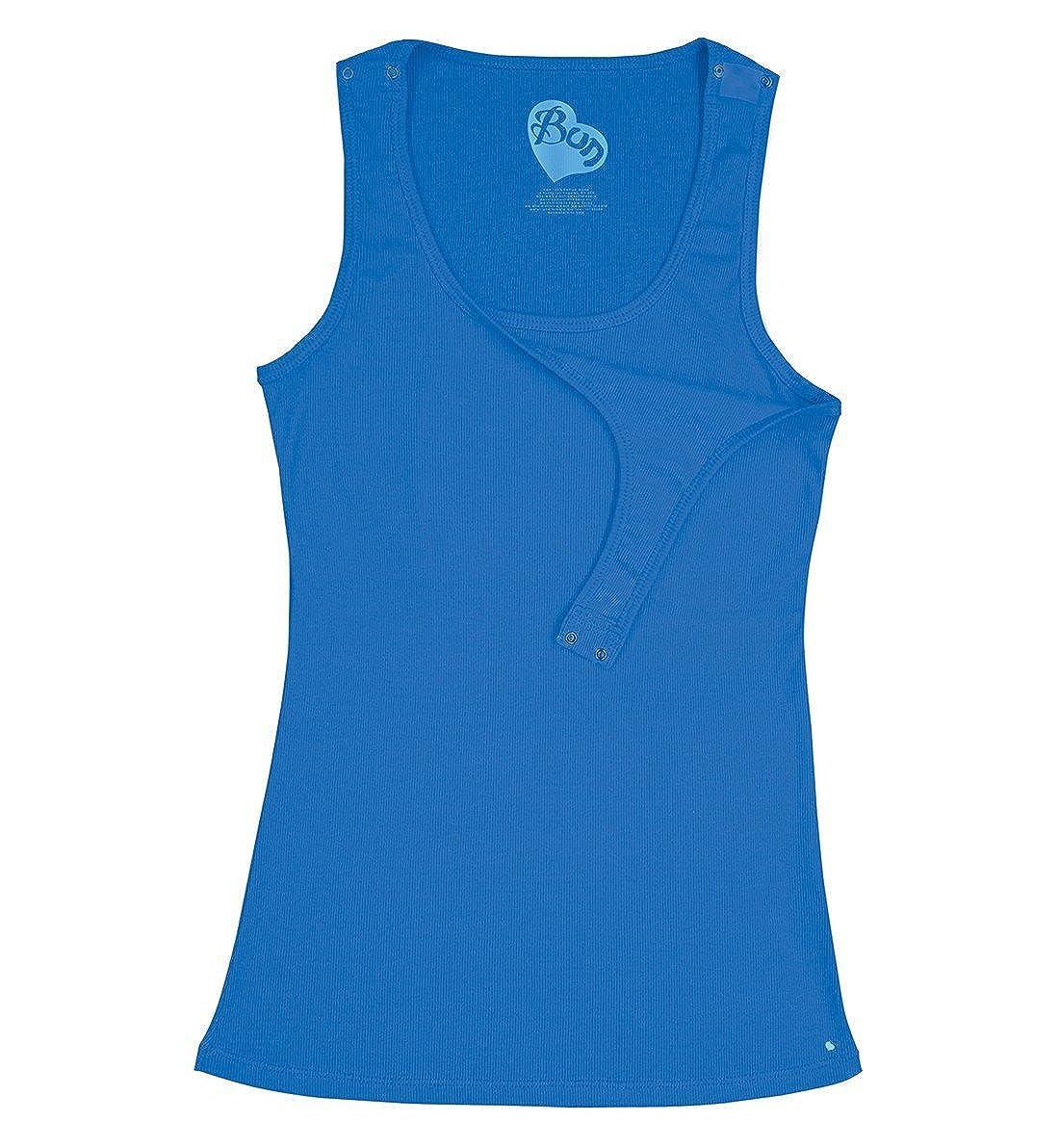 7ab3034d0874f Amazon.com: Bun Maternity Women's Maternity Ribbed Snap Nursing Tank Top:  Clothing