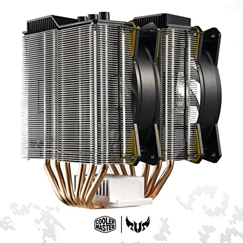 Cooler Master MasterAir MA620P TUF Edition Dual-Tower RGB CPU Air Cooler 6 Heat pipes Dual Master Fan MF120R 120mm RGB Fans (MAP-D6PN-AFNPC-R1) by Cooler Master (Image #6)