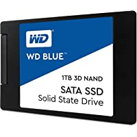 Western Digital Blue 3D NAND SATA SSD 1TB Serial ATA III - Disco duro sólido (1024 GB, Serial ATA III, 560 MB/s, 530 MB/s, PC/ordenador portátil, 6 Gbit/s)