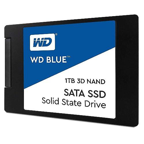 """WD Blue 3D NAND 1TB PC SSD - SATA III 6 Gb/s, 2.5""""/7mm - WDS100T2B0A"""