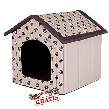 hobbydog budbez13 + Ball gratis para perros Gato Cueva cama para perros Perros Casa Dormir Espacio para perros perro casa Caseta R1 de R4: Amazon.es: ...