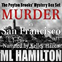 The Peyton Brooks' Mysteries Box Set Audiobook by M.L. Hamilton Narrated by  Kelley Hazen Storyteller Productions