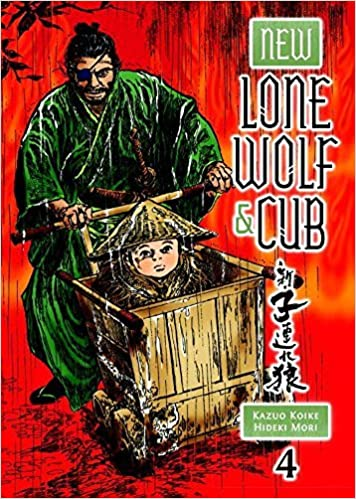 New Lone Wolf and Cub Volume 4 by Kazuo Koike March 24,2015 ...