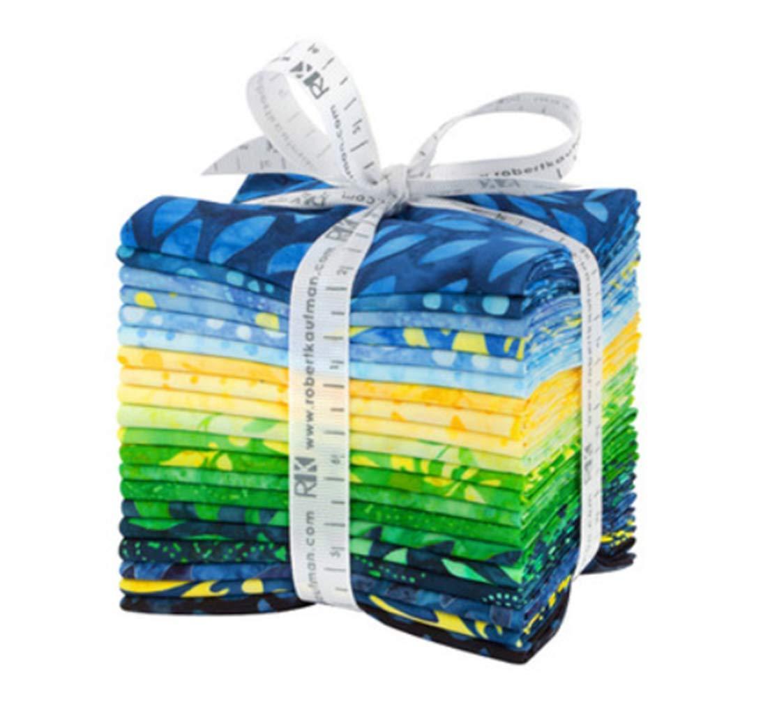 Lunn Studios Artisan Batiks Sunny Day 20 Fat Quarter Bundle Robert Kaufman Fabrics by Robert Kaufman Fabrics