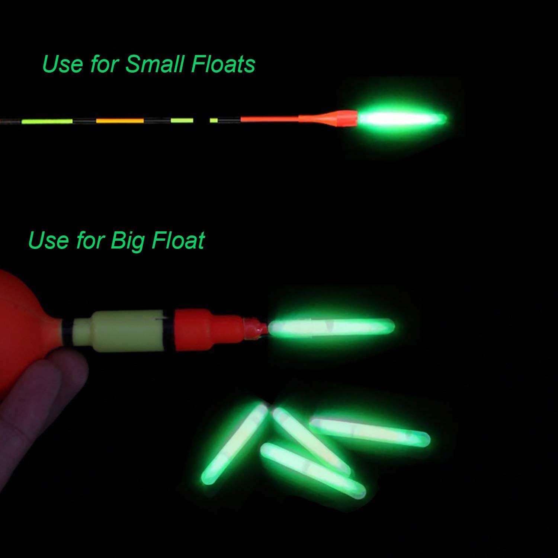 15PCS Tools Sports Goods Fishing Accessories Float Fluorescent Light Stick
