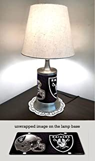 Amazon st louis blues lamp with shade sports outdoors oakland raiders lamp with shade mozeypictures Choice Image