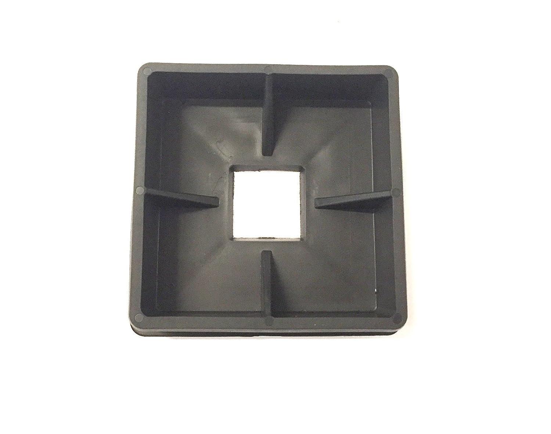 Bumper Plug End Cap Cover RV Camper Trailer 4 Square Rubber