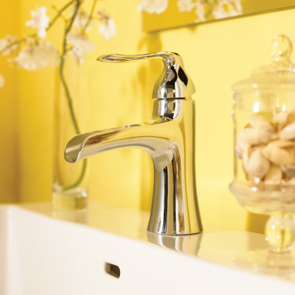 Speakman SB-1211-BN Caspian Single Lever Bathroom Faucet, Brushed ...