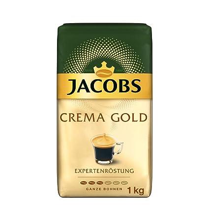 Jacobs Kaffeebohnen Expertenröstung Crema Gold 1 Kg Bohnenkaffee Amazon De Lebensmittel Getränke