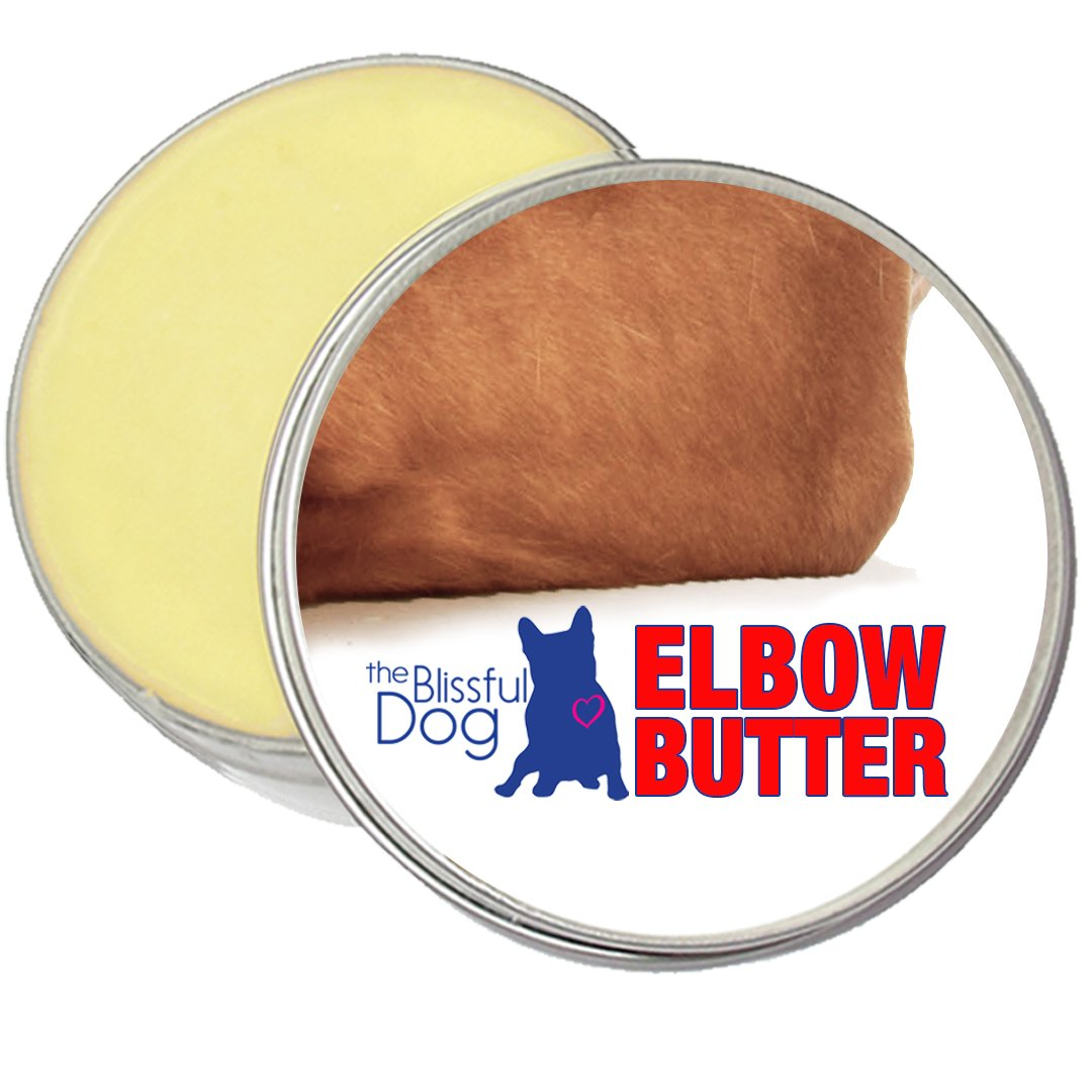 The Blissful Dog Elbow Butter Moisturizes Your Dog's Elbow Calluses - Dog Balms, 8-Ounce by The Blissful Dog