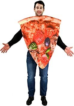 Sea Hare Impression num/érique unisexe 3D adulte tranche de pizza Costume