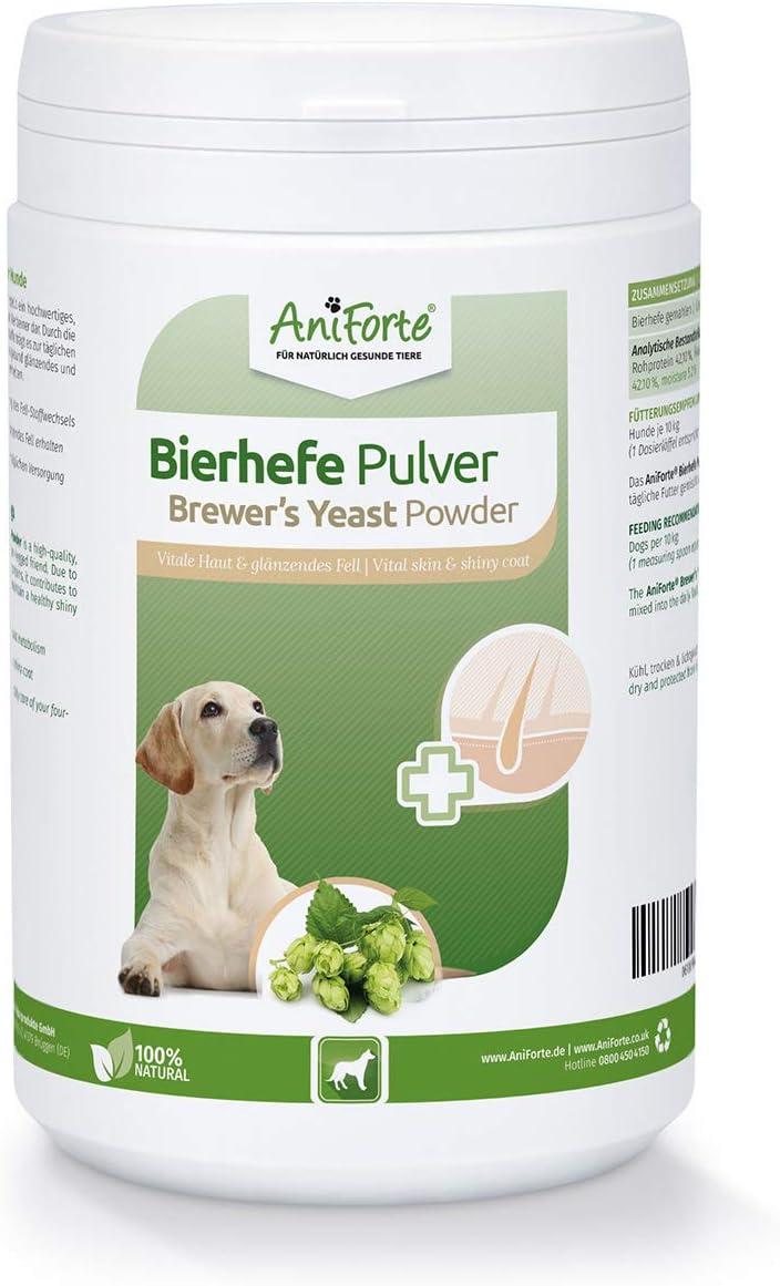 AniForte Reine Bierhefe Pulver für Hunde
