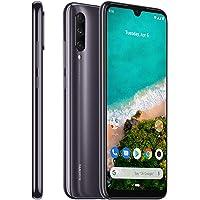 Xiaomi Mi A3 Smartphones 4GB RAM + 128GB ROM, Pantalla de 6.088'', procesador Octa-Core, 32MP Frontal y 48MP AI Triple Cámara Teléfonos móviles Versión Global (Negro)