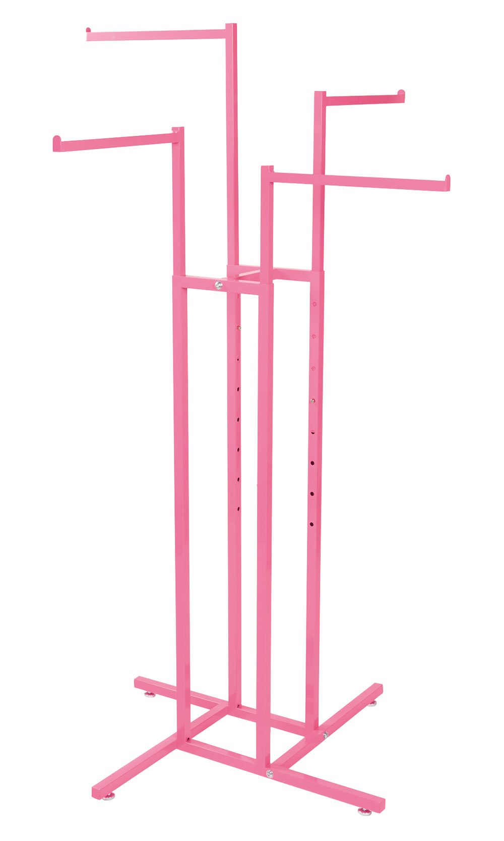 SSWBasics Hot Pink 4 Way Rack with Straight Arms