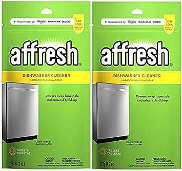 Amazon.com: Affresh w10282479 lavavajillas Cleaner, (12 ...