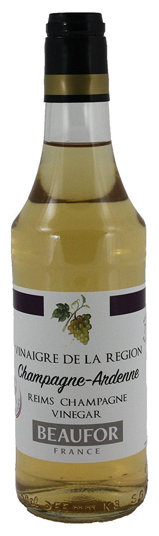 Beaufor Champagne Vinegar - 16.7 Ounce (Pack of 12)