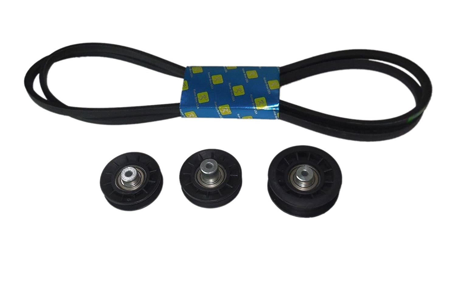 New John Deere Lt150 Lt160 Lt170 Idler Pulley Kit W Wiring Harness Hydrotransmission Drive Belt Garden Outdoor