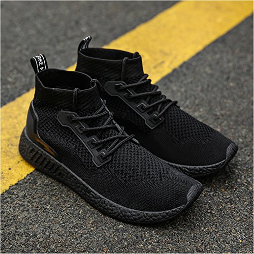 Walking Leader Black Sneakers Shoes Show Casual Mens Light Fashion Street Breathable Athletic qFzWrqap