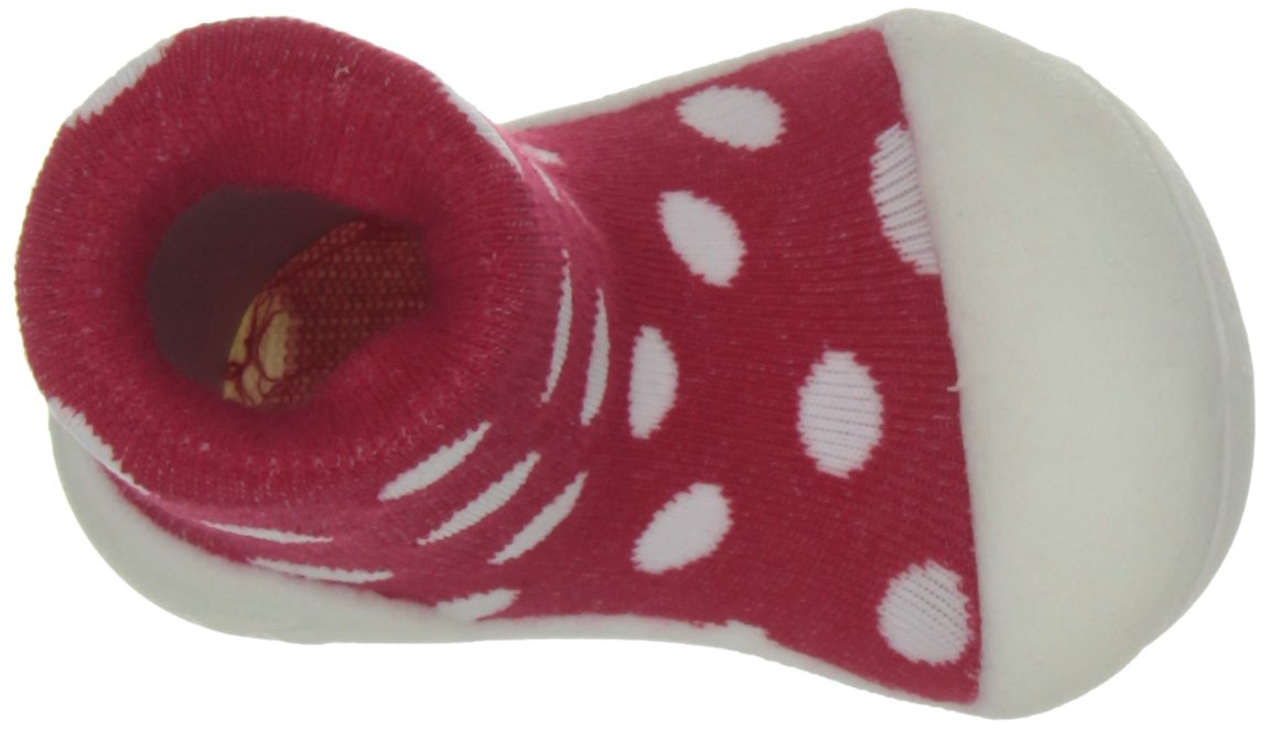 Attipas Girl's Polka Dot Shoe Red 4.5