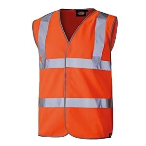 Dickies Gilet sécurité haute visibilité SA30310