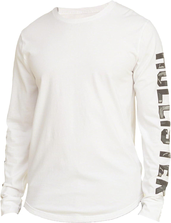 Hollister - Camiseta - Camiseta - Básico - Manga Larga - para ...