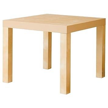 Amazon.de: Ikea Moderne Lack Tisch für Wohnzimmer Möbel Modern Birch ...
