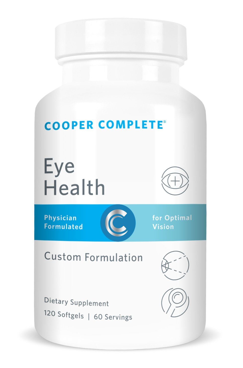 Cooper Complete - Eye Health Supplement - Lutein and Zeaxanthin, Vitamin C & E - 60 Day Supply
